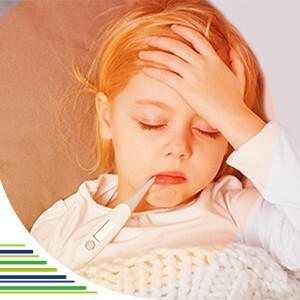 Ako zraziť horúčku u detí