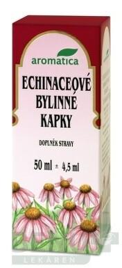 aromatica ECHINACEOVÉ BYLINNÉ KVAPKY 50ml