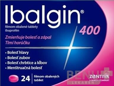 Ibalgin 400 tbl flm 24x400mg