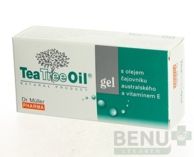 Dr. Müller Tea Tree Oil GEL S VITAMÍNOM E 30ml
