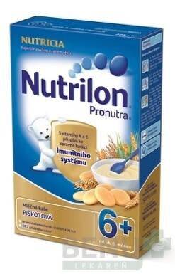 Nutrilon Pronutra obilno-mliečna kaša piškótová 225g