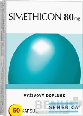 GENERICA SIMETHICON 80 mg cps 50x80mg