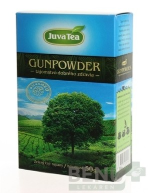 JUVAMED GUNPOWDER ZELENÝ ČAJ 50g