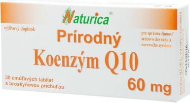 Naturica Prírodný KOENZÝM Q10 60 mg tbl 30x60mg