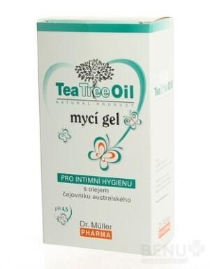 Dr. Müller Tea Tree Oil UMÝVACÍ GÉL 200ml 2