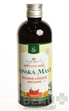KONSKÁ MASŤ BYLINNÉ LIEHOVÉ MAZANIE HREJIVÉ 400ml