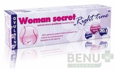 Woman secret RIGHT TIME ovulačný test 1x20ks
