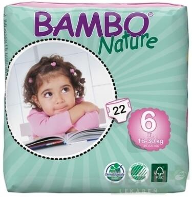 BAMBO XL 6 (16-30 kg) 22ks