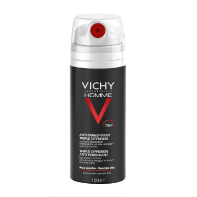 VICHY HOMME ANTI PERSPIRANT DEO 72H 150ml 150ml