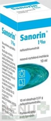 SANORIN 1 ‰ int nao 10ml  1%