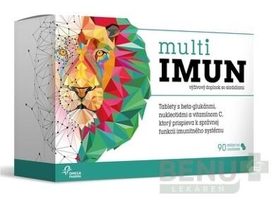 Omega Pharma Multiimun cmúľavé 90 tbl. tbl 90