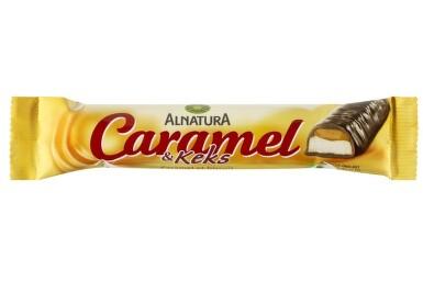 ALNATURA Karamelová tyčinka so sušienkami 35g