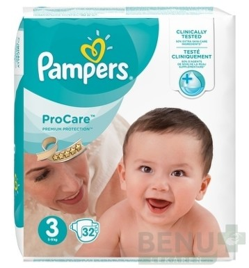 PAMPERS ProCare PREMIUM protection 3 32ks