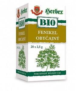 HERBEX BIO FENIKEL OBYČAJNÝ 20x2,5g