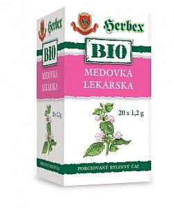HERBEX BIO TEA MEDOVKA LEKÁRSKA 20x1,2g