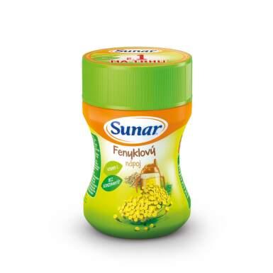 SUNAR Rozpustný nápoj v prášku feniklový 200 g