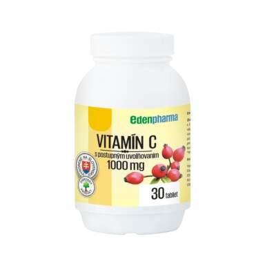 EDENPHARMA Vitamín C 500 mg 30 tabliet