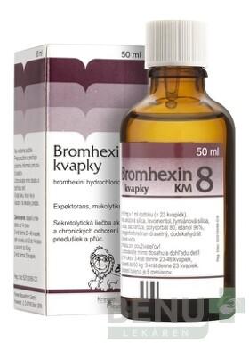 BROMHEXIN 8-KVAPKY KM gtt  50ml 8mg/ml