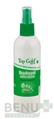 TOP GOLD Deodorant s chlorofylom+Tea Tree Oil 150g