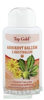 TOP GOLD Arnikový balzam s kostihojom 200ml