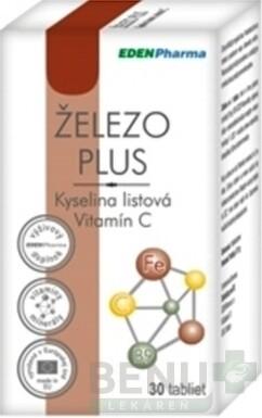 EDENPharma ŽELEZO PLUS tbl 30