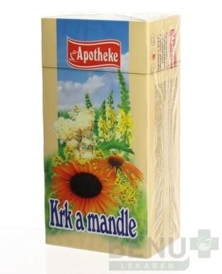APOTHEKE ČAJ KRK A MANDLE 20x1,5g