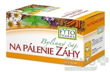 FYTO Bylinný čaj NA PÁLENIE ZÁHY 20x1,5g