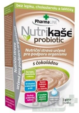 Nutrikaša probiotic - s čokoládou 3x60g