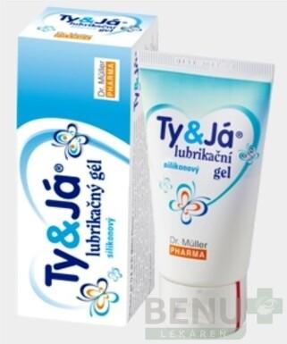 Dr. Müller TY&JÁ LUBRIKAČNÝ GÉL silikonový 50ml
