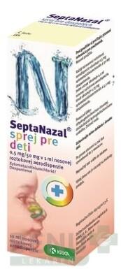 Septanazal sprej pre deti 10ml