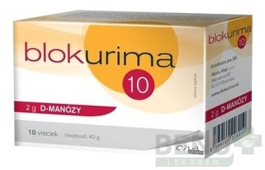 Blokurima 2 g D-MANÓZY 10ks