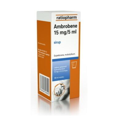 AMBROBENE 15 mg/5 ml sir 100ml 15mg/5ml