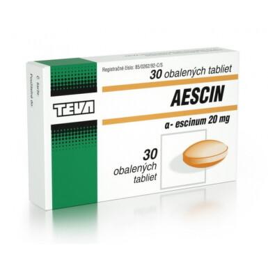 AESCIN tbl obd 20 mg 1x30 ks tbl obd 30x20mg