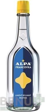 Alpa Francovka liehový roztok 160 ml 160ml