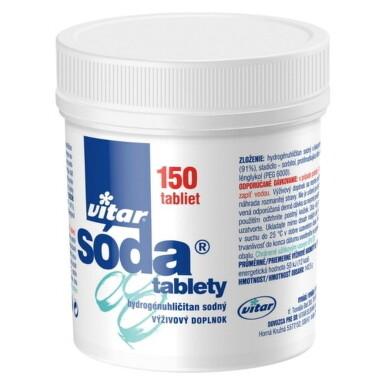 VITAR sóda tablety 150g