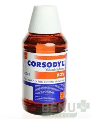 CORSODYL 0,2% sol ora 300ml
