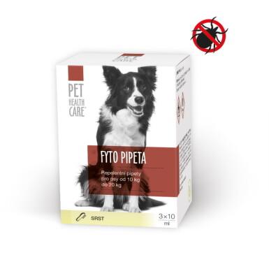 PET HEALTH CARE FYTO PIPETA pre psov od 10 kg do 20 kg 3x10ml