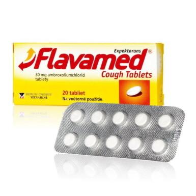 Flavamed Cough Tablets tbl 20x30mg