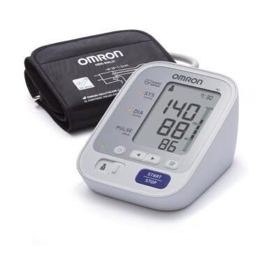 OMRON M3 Digitálny tlakomer automatický + sieťový zdroj 1 ks