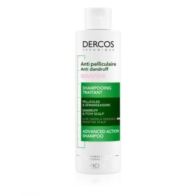 VICHY Dercos šampón proti lupinám pre citlivú vlasovú pokožku 200 ml