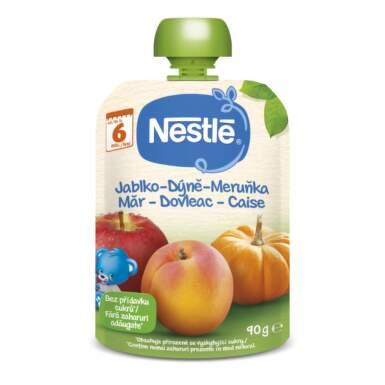 NESTLÉ Kapsička jablko, tekvica, marhuľa 90 g