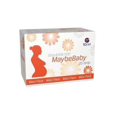 MAYBEBABY Strip maxi pack ovulačný test 25 kusov