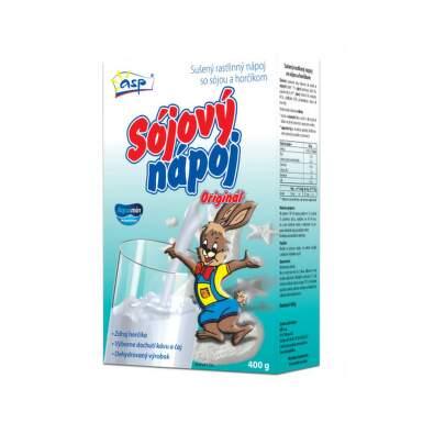 ASP Sójová náhrada mlieka Zajac 400 g