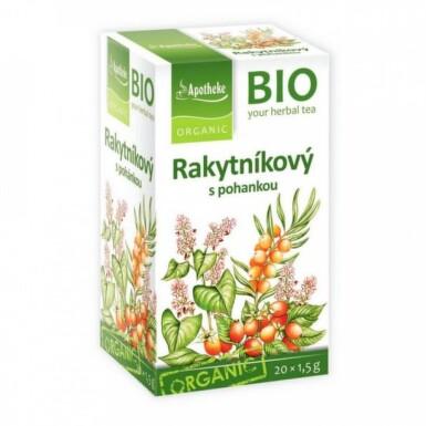 APOTHEKE BIO Selection bylinný čaj pohánkový s rakytníkom 20 x 1,5 g