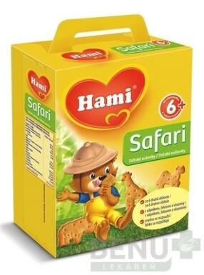 Hami sušienky Safari 180g