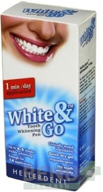 HELLERDENT WHITE&GO Bieliace pero 5ml
