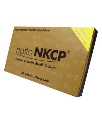 NATTO NKCP /extract of Natto Bacilli culture/ tbl 60x125mg