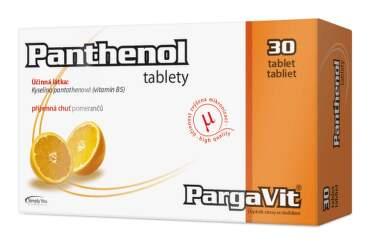 PargaVit PANTHENOL tbl 30