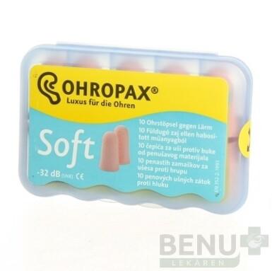 OHROPAX SOFT Ušné vložky 10ks
