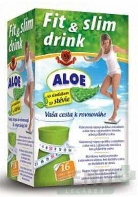 HERBEX FIT & SLIM drink ALOE 96 g 16x6g